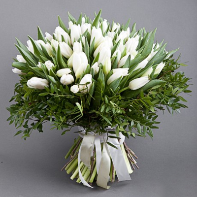 Pure Love Tulips Bouquet