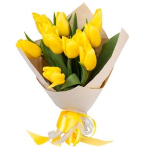 11 Sunny Tulips Bouquet