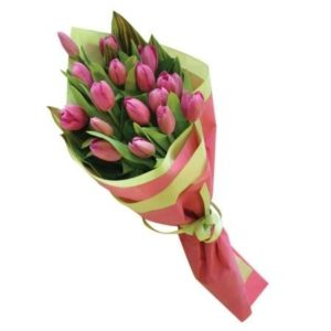 Cascade Tulips Bouquet