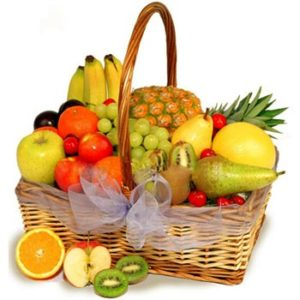 Juicy Fruit Basket