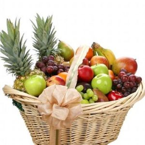 Warm Wishes Fruit Basket