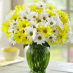 Cheerful Chrysanthemums Bouquet