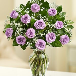 13 Purple Roses Bouquet