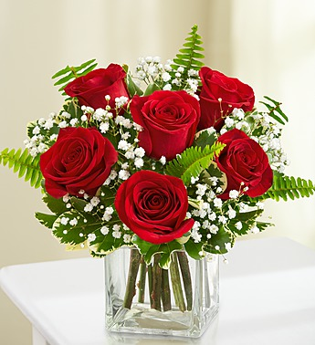 7 Red Roses Bouquet
