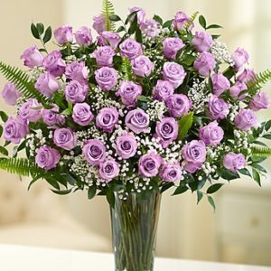 51 Purple Roses Bouquet