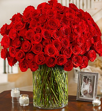 Queen Red Roses Bouquet