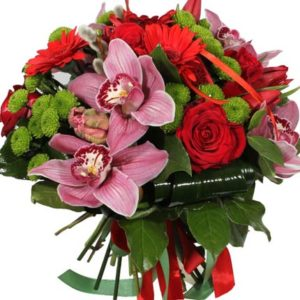 Exotic Orchids Bouquet