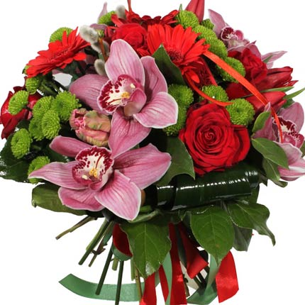 Exotic Orchids Bouquet Gifts And Flowers Delivery In Ukraine