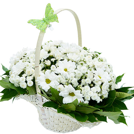 Pureness Flower Basket