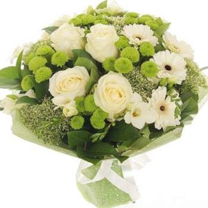Spring Purity Bouquet