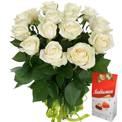 17 Roses Bouquet and Lyubimov