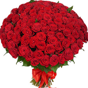 Passion 101 Red Roses Bouquet