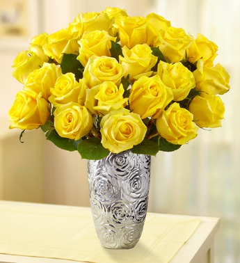 19 Yellow Roses Bouquet