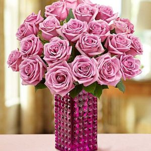 25 Purple Roses Bouquet