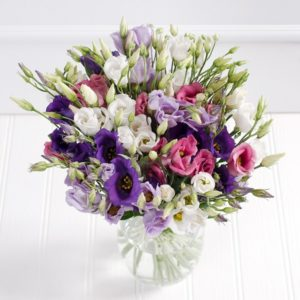 Delicate Eustoma Bouquet