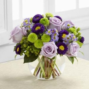 Purple Garden Bouquet