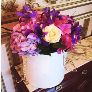 Enchanting Flower Hat Box