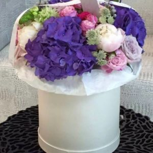 Magnificent Flower Hat Box