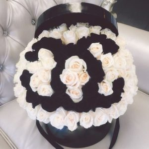 Chanel Flower Hat Box