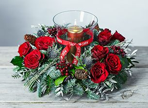 Charming Christmas Centerpiece