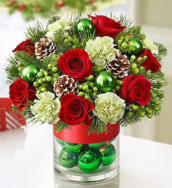Cheerful Christmas Bouquet