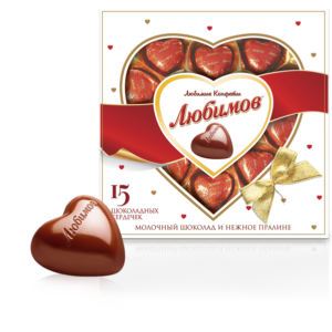 Liubimov Chocolate Hearts