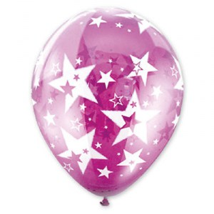 Balloon with Stars