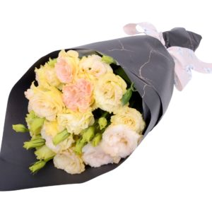 Champagne Eustoma Bouquet
