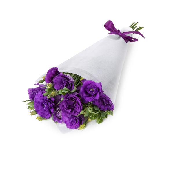 Purple Eustoma Bouquet