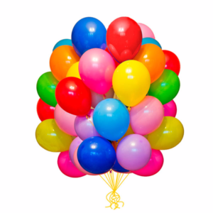 30 Colorful Balloons